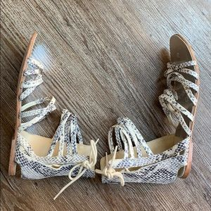 Free People Shoes - Free people Juliette Wrap Sandals